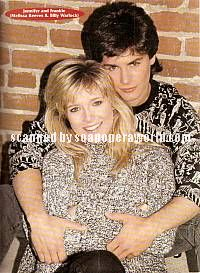 Melissa Reeves & Billy Warlock (Jennifer & Frankie, DAYS)
