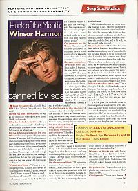 Interview with Winsor Harmon (Del Henry on the ABC soap opera, All My Children)