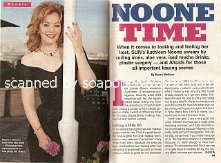 Interview with Kathleen Noone (Aunt Bette on NBC soap opera, Sunset Beach)