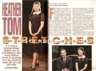 Interview with Heather Tom (Victoria on The Young & The Restless)