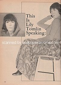 Interview with Lily Tomlin