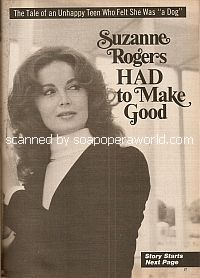 Interview with Suzanne Rogers (Maggie on the NBC soap opera, Days Of Our Lives)