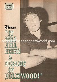 Interview with Tom Fuccello (Paul Kendall on the ABC soap opera, One Life To Live)