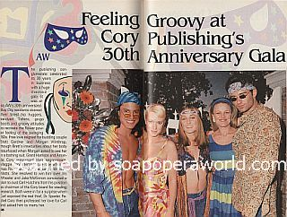 Having A Ball at Cory Publishing's 30th Anniversary Gala on Another World