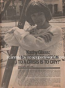 Interview with Kathy Glass (Jenny Wolek on One Life To Live)