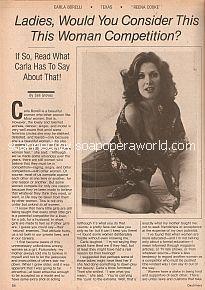Interview with Carla Borelli (Reena Cooke on Texas)