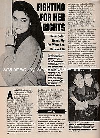 Interview with Rena Sofer (Rocky on the ABC soap opera, Loving)