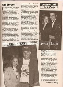 Interview with Robert Kelker-Kelly & Crystal Chappell (Bo & Carly on Days Of Our Lives)