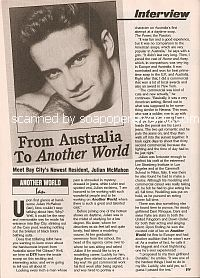 Interview with Julian McMahon (Ian on Another World)