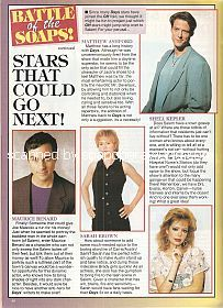 Battle Of The Soaps featuring Maurice Benard and Matthew Ashford
