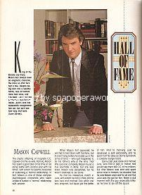 Hall Of Fame with Lane Davies (Mason Capwell on Santa Barbara)