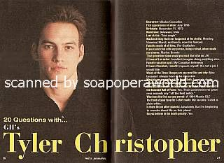 20 Questions with Tyler Christopher (Nikolas Cassadine on General Hospital)