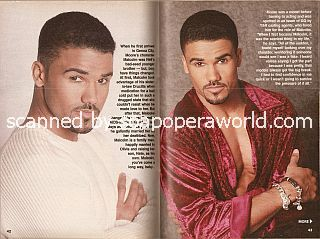Shemar Moore (Malcolm on The Young and The Restless)