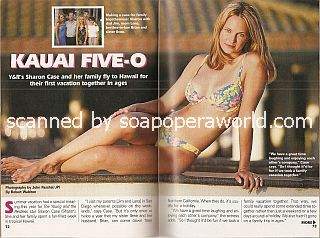 Pictorial featuring Sharon Case (Sharon on The Young and The Restless)