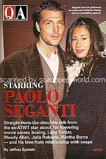 Paolo seganti and carlotta chang