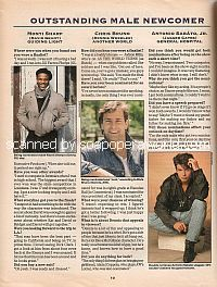 Outstanding Male Newcomer for the 1993 Soap Opera Digest Awards