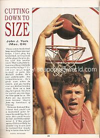 Cutting Down To Size with John J. York (Mac on the soap opera, General Hospital)