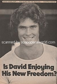 Interview with David Hasselhoff (Snapper on The Young and The Restless)