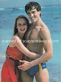 John Wesley Shipp and Jennifer Cooke of Guiding Light