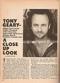 anthony geary news