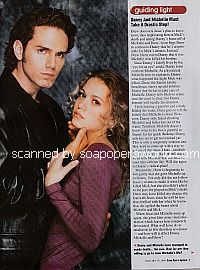 Paul Anthony Stewart and Joie Lenz (Danny and Michelle on Guiding Light)