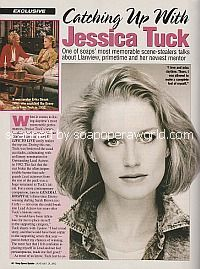 Catching Up with Jessica Tuck (ex-Megan, OLTL)