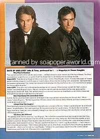 Enemies By Day featuring Drake Hogestyn & Thaao Penghlis (John Black and Tony DiMera on Days Of Our Lives)