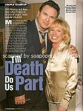 Couple Close Up with Alan & Monica of General Hospital
