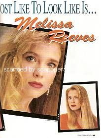 Melissa Reeves (Jennifer on Days Of Our Lives)