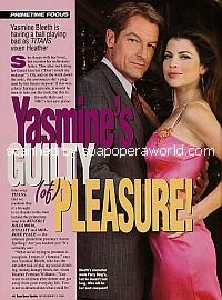 Interview with Yasmine Bleeth of Titans