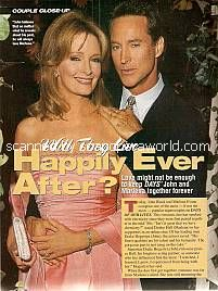 Drake Hogestyn & Deidre Hall (Couple Closeup with John and Marlena on Days Of Our Lives)