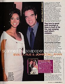 Soaps Sexiest Couples featuring Eva LaRue and John Callahan