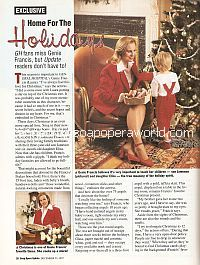 Interview At Home with Genie Francis (Laura on General Hospital)