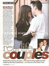 Real-Life Couples featuring Vanessa Marcil & Tyler Christopher (Brenda & Nikolas on General Hospital)