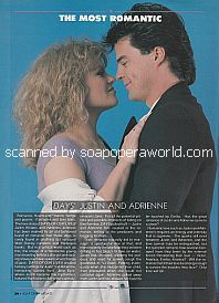 Judi Evans and Wally Kurth (Adrienne and Justin on Days Of Our Lives)