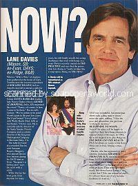 Where Are They Now? with Lane Davies (ex-Mason, Santa Barbara)