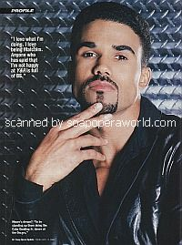 Shemar Moore of The Young and The Restless