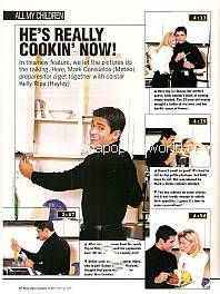 Photo Feature with AMC co-stars Mark Consuelos & Kelly Ripa (Mateo & Hayley on All My Children)
