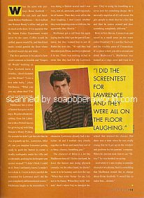 Interview with Robert Mailhouse (Brian Scofield on the soap opera, Days Of Our Lives)