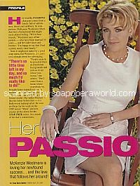 Interview with McKenzie Westmore of Passions