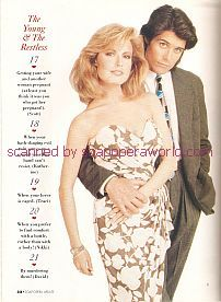 Tracey E. Bregman & Peter Barton (Lauren & Scott on The Young & The Restless)