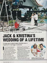 Wedding Of A Lifetime with co-hosts Jack Wagner and Kristina Wagner