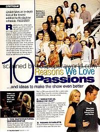 10 Reasons We Love Passions