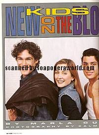 Another World newcomers Grayson McCouch, Amy Carlson & Diego Serrano