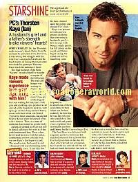 Thorsten Kaye played the role of Ian on Port Charles