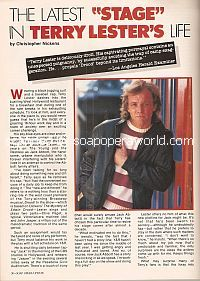 Interview with Terry Lester (Jack Abbott on The Young & The Restless)