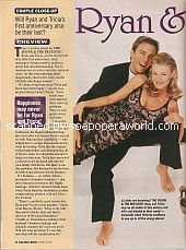 Couple Close-Up with Scott Reeves & Sabryn Genet (Ryan & Tricia on The Young & The Restless)