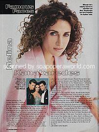 Melina Kanakaredes (ex-Eleni, Guiding Light