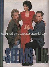 Kale Browne, Anna Stuart & Matt Crane of Another World