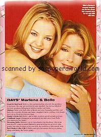 Kirsten Storms & Deidre Hall of Days Of Our Lives
